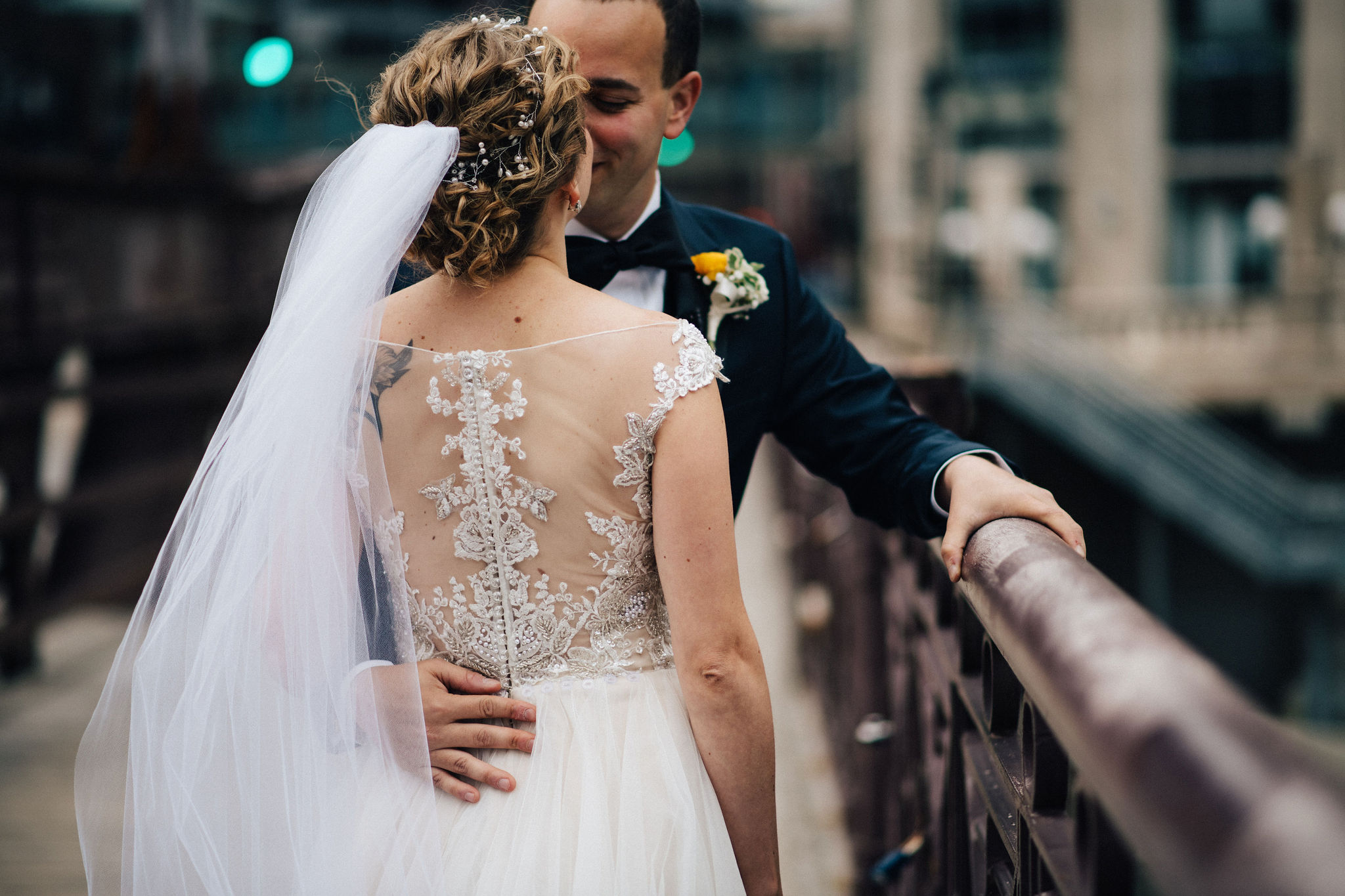Metropolitan Club Wedding in the Willis Tower, Shot by Couple of Dudes