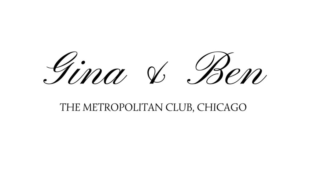 Gina and Ben