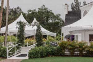 Lake House Tent rain