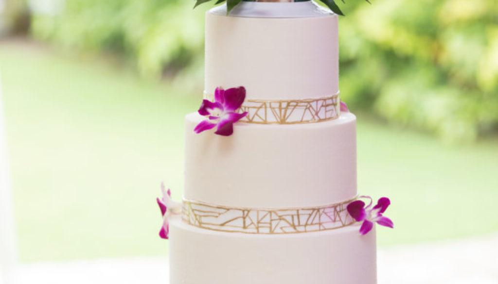 Wedding Cake Maria and Scott